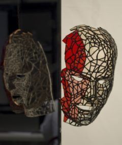 Masque - Armorique Vitrail