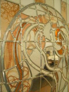 Portes vitrail