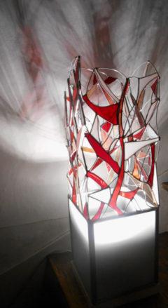 Lampe Aux Demoiselles, Armorique Vitrail