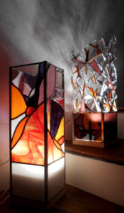 Lampes Armorique Vitrail